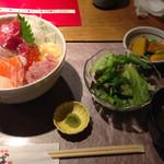 どったんば - 鮮魚の豪海丼@1000円