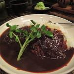 牡舌亭 - 牛タンカレー1350円