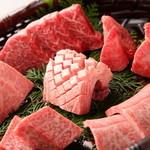 肉匠 なか田 - 料理写真:特選肉の盛り合わせ