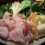 舞桜 - クエ鍋