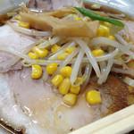 メルシー - 2014年11月中旬。チャーシュー麺化学調味料抜き。