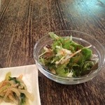 CHINA  MAPLE CAFE 明楓 - 野菜サラダ