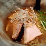 らー麺とご飯の たかぎ - 焼きアゴ 塩らーめん