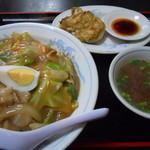ねもと - 中華丼&餃子(3コ)