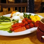 Zen Cafe Marina - バーニャカウダ