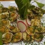 Zen Cafe Marina - ハマグリのエスカルゴバター風味