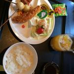 旬菜串揚 月のうさぎ - 料理写真:お子様ランチ