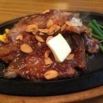ステーキのくいしんぼ - くいしんぼステーキ250g(ニンニクバター醤油)1,095円
