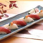 木曽路 - ふぐ・トロ握り寿司