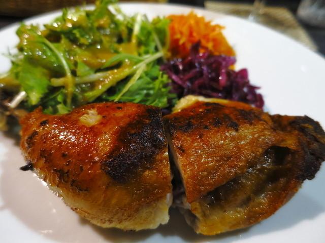 ルフュージュ - 鶏もも肉のコンフィ