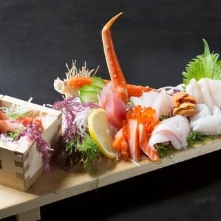 【人気No1】原価率110%!漁師町の板盛!なんと500円!