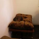 カフェリリオ - 猫ちゃんがお昼寝中