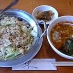 鮮菜 - 料理写真:中国料理 鮮菜 @葛西 ランチ 胡麻辣セット 1,000円(税込)