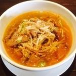 千客万来白馬 - ツゥーガンラーメン(レバースープ麺)  ¥950