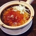 千客万来白馬 - 丸ごと❗️フカヒレ麺  ¥1800