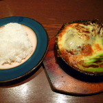 てんしん堂 - 【煮込みチーズハンバーグランチ 1000円】