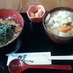 32586607 - おぼろ豆腐ごはんセット