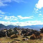 TOP's 360° - 車山山頂(1925m)。左は蓼科山、右は八ヶ岳連峰(2014.10月)