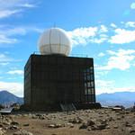 TOP's 360° - 山頂のシンボル。気象レーダー観測所(2014.10月)