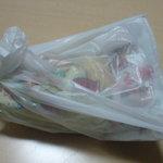 どとう ぜにや  - 貰ったお菓子 ※うどん巡礼者用  ※2010年2月
