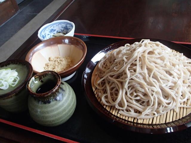 武田そば 風林茶家 - くるみそばの大盛り 1,500円(2014.07)