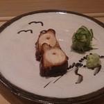 鮨よしたけ - 明石の煮タコ