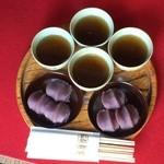 赤福 - 赤福餅盆 1皿290円 ※2014年11月