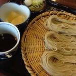 そば処 千成 - 半ざる(手形1枚)