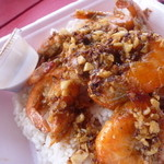 Romy's Kahuku Prawns & Shrimp - Butter & Garlic Sauteed $12.75