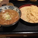 伝丸 - 伝丸 百万遍店の濃厚魚介つけ麺700円(14.11)