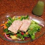 326211 - コッコロコースの「サラダ仕立ての前菜」