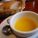 マーシュ - ブラッスリー マーシュ かぼちゃの冷たいスープ