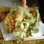 326700 - 天下野の野菜天ぷら