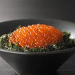 北海道知床標津 いくら丼うえだ - 料理写真:究極の標津いくら丼