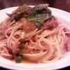 レガロキッチン - 料理写真:春菊とチョリソーのトマトパスタ