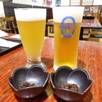 天地豊作 - 風味爽快ニシテ生ビール