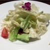 サイキ - 料理写真:ランチ限定コース  ¥1,300   手ちぎちキャベツの塩サラダ