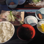 32601191 - アジ刺身定食