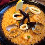 パラドリーナ - 魚介のパエジャ