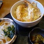 こくぶ亭 - えび玉丼ランチ