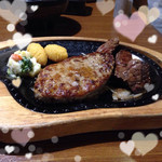 びっくりドンキー - ハンバーグ&コロコロステーキ♡