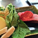 佐賀牛 季楽 銀座  - 肉(焼く前)