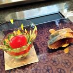 佐賀牛 季楽 銀座  - 前菜1