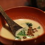 丹想庵 健次郎 - お店から:胡麻のすり流し まったりしていて美味しい。温まるしお酒のつまみとしてもGOOD ☆3.8