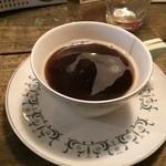 三人灯 - セットのコーヒー(2014/11)