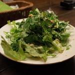 32605414 - 京都ダイナーのグリーンサラダ500円(14.04)