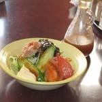 焼肉の鷹 - ミニツナサラダ