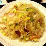 長崎ちゃんぽんリンガーハット - 野菜たっぷり皿うどん!(2014,11/10)