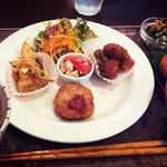 玄氣食堂 ゆいまる - お昼ごはんプレート950円