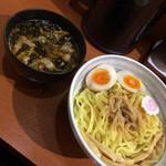 麺こい・わ - つけめん+味玉 2014.11.14